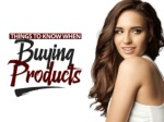 Things To Know When Buying Products