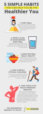 5 Simple Habits That Can Help You Be The Healthier You