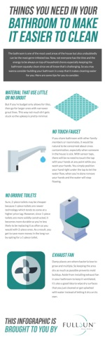 Things You Need In Your Bathroom To Make It Easier To Clean