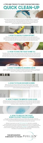6 Tips And Tricks To Give Your Bathroom A Quick Clean-Up
