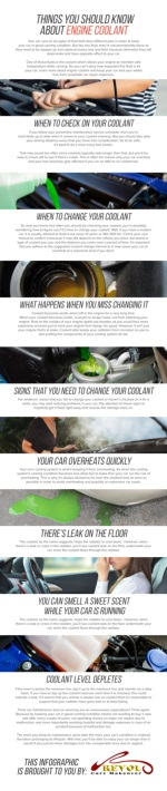 Things You Should Know About Engine Coolant