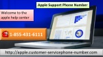 Avail Technical Support Service at Apple Support Phone Number 1-855-431-6111 Easily