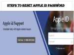 Apple id Support Number 1-888-209-3034 | Reset Apple id Password
