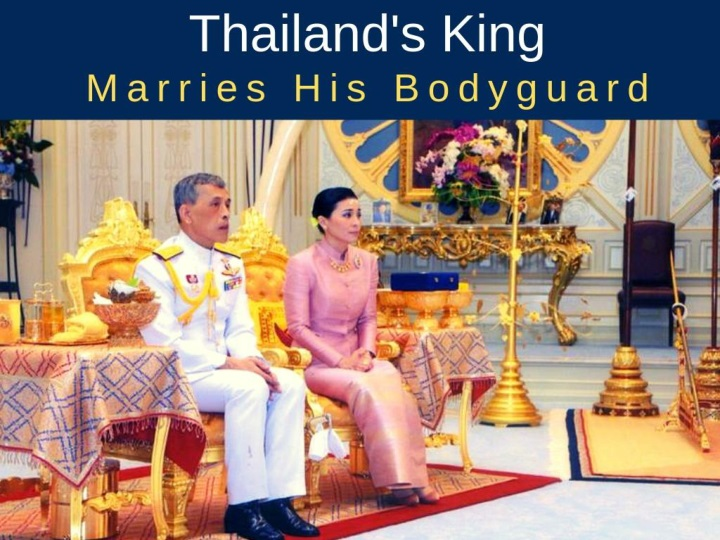 thailand s king marries his bodyguard n.