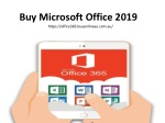 Ways to download Microsoft Office 2019
