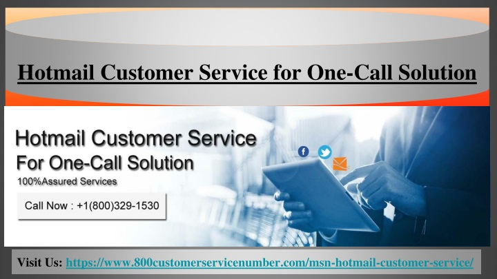hotmail customer service for one call solution n.