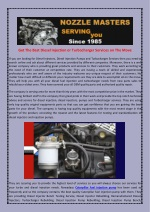 Get The Best Diesel Injection or TurbochargerServices on The Move