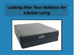 Looking After Your Mattress for a Better Living