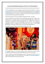 Get the Best Wedding Photography in Delhi from Top Photographers