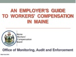 An Employer's Guide to Workers' Compensation in Maine