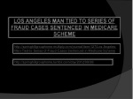 Springhill Group Home : Los Angeles Man Tied to Series of Fr