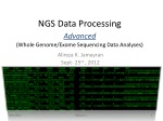 NGS Data Processing