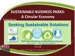SUSTAINABLE BUSINESS PARKS: A Circular Economy