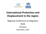 International Protection and Displacement in the region