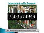 Supertech New Projects Sector 79 Gurgaon