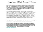 Photo Recovery Software-Media Recovery-Image Recovery-Photo