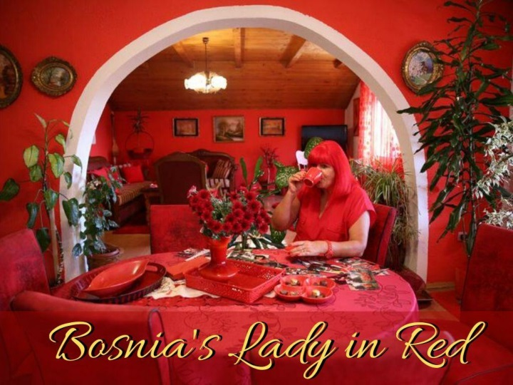 Zorica Rebernik - The red lady of Bosnia
