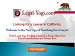 How To Find A Lawyer In California