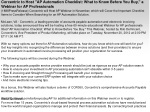 """Corcentric to Host """"AP Automation Checklist: What to Know Be"""