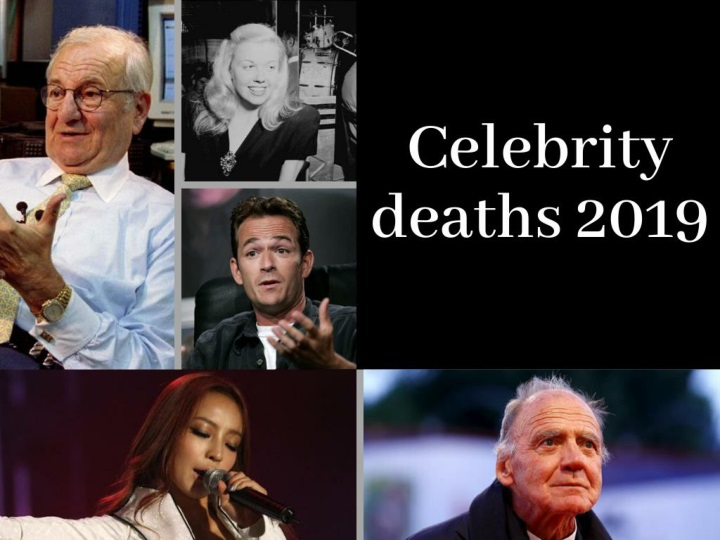 Notable deaths in 2019