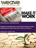 Weave Services Limited presents: Regaining competitiveness in the Chinese footwear market