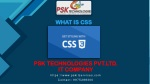 Introduction to css ppt presentation
