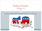 Political Parties Chapter 17