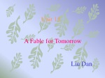 A Fable for Tomorrow Liu Dan