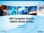 IEEE Computer Society Digital Library (CSDL)